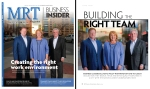 Front and inside covers for MRT Business Insider magazine, a special publication by the Midland Reporter-Telegram.