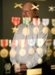 "Herbert ""Herb"" Cartwright shares a collection of medals that his father, a decorated veteran of World War II and Korea, left to him. James Durbin/Reporter-Telegram"